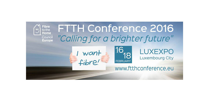 Orbit GT FTTH Conference, Luxembourg