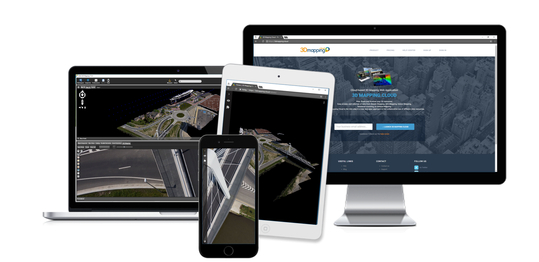 Product Family – 3D UAS Mapping on