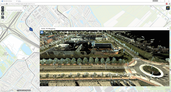 PR 2016-03-02 Orbit GT - Orbit GT shows new 3D Mobile Mapping technology in ArcOnline and WebApp Builder at Esri PC