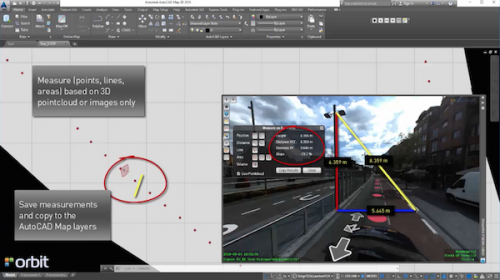 Orbit GT Orbit GT launches AutoCAD MAP plugin for Mobile Mapping