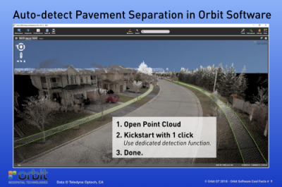 Auto-detect Pavement Separation