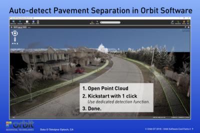 Auto-detect Pavement Separation