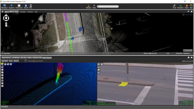 Mobile Laser Scanning : Orbit 3DM Content Manager