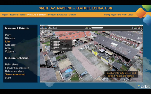 Orbit GT Orbit GT extends discount for new UAS Mapping Feature Extraction v17