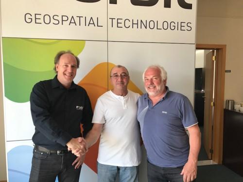 Orbit GT Orbit GT and x-Spatial, USA, sign Reseller Agreement