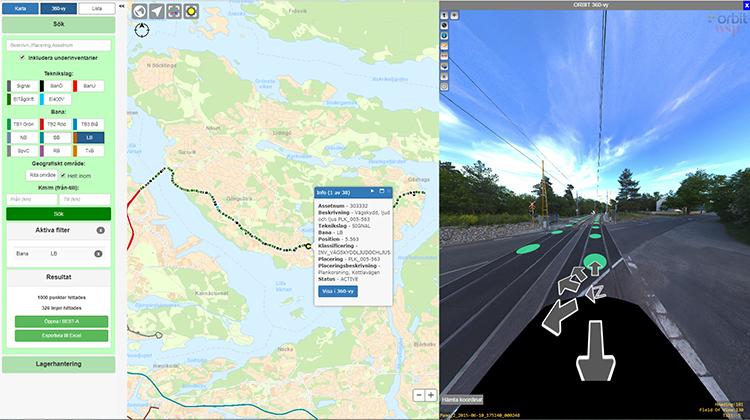 Orbit GT Stockholm Public Transport: Administration Rail Asset Management