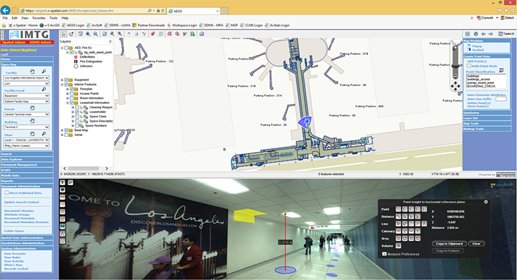 Orbit GT Indoor mapping at Los Angeles Airport: A Complex Spatial Story