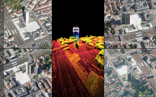 Orbit GT Orbit GT updates 3D Mapping Cloud with Oblique Imagery Support