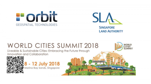 Orbit GT Orbit GT Smart City solutions presented by Singapore Land Authority on World Cities Summit, Singapore