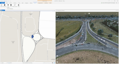 Orbit GT Orbit GT to showcase Trimble MX9 Mobile Mapping content in ArcOnline/ArcGIS at Esri UC, San Diego, CA