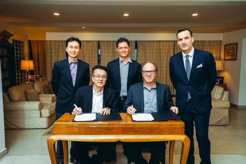 Orbit GT Orbit GT signs strategic Smart Mapping deal with Singapore Land Authority at Embassy