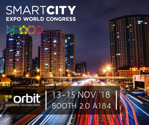 Orbit GT Orbit GT to exhibit at Smart City Expo and World Congress, Barcelona, Spain