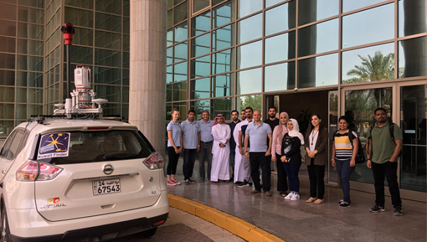 Bringing 3D Mapping to the people of Kuwait