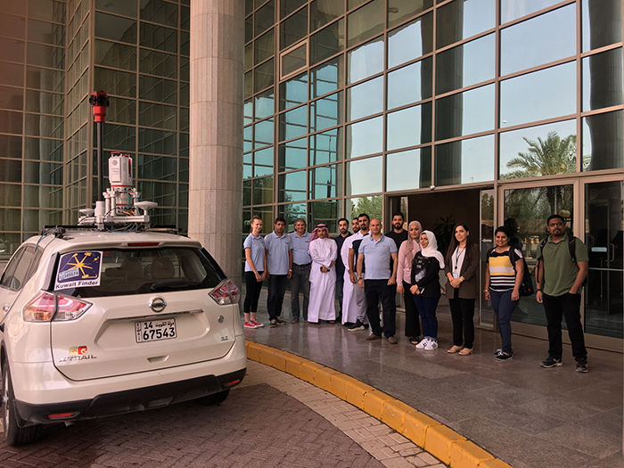 Orbit GT Bringing 3D Mapping to the people of Kuwait
