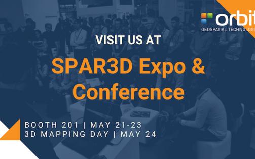 Orbit GT to exhibit and present at SPAR3D, Anaheim, CA
