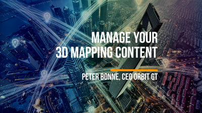 Why Content Management is Key to Success in 3D Mapping