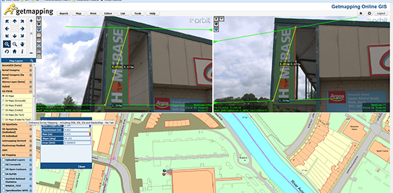 Getmapping provides UK with street imagery