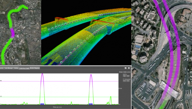 Tech Focus: Mobile Mapping a 600m tunnel in Israel