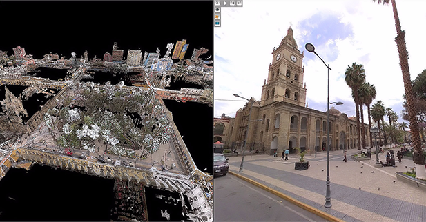 Mobile Mapping to improve water utility services in Bolivia