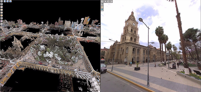Orbit GT Mobile Mapping to improve water utility services in Bolivia