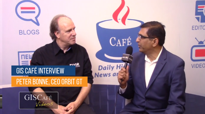 Orbit GT GIS Café Interview with Peter Bonne