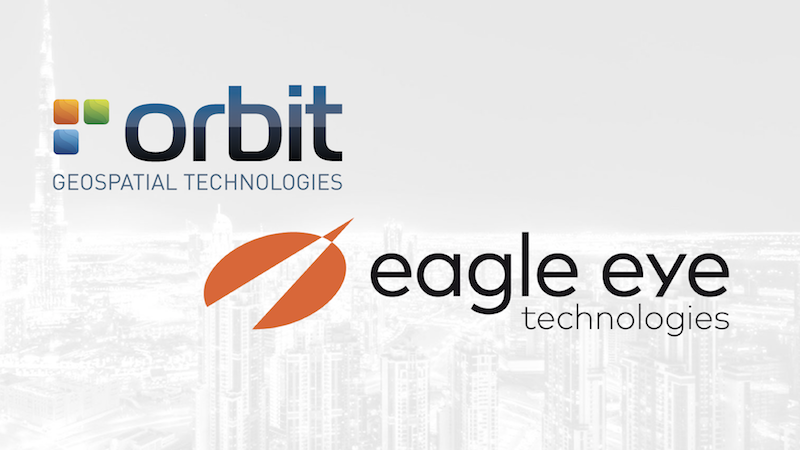 Orbit GT Orbit GT and eagle eye technologies, sign Reseller Agreement