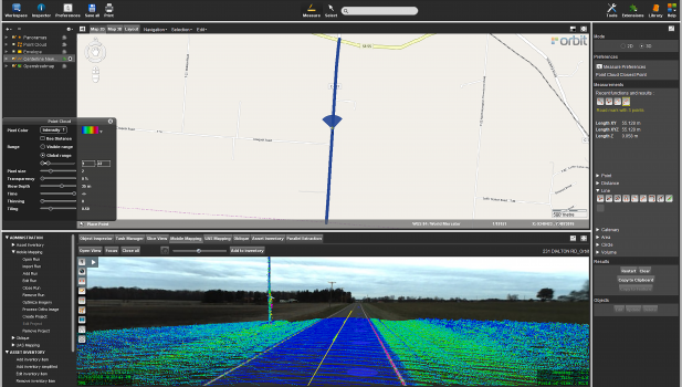 Mobile Mapping Redefines Pavement Marking Inventory in Ohio