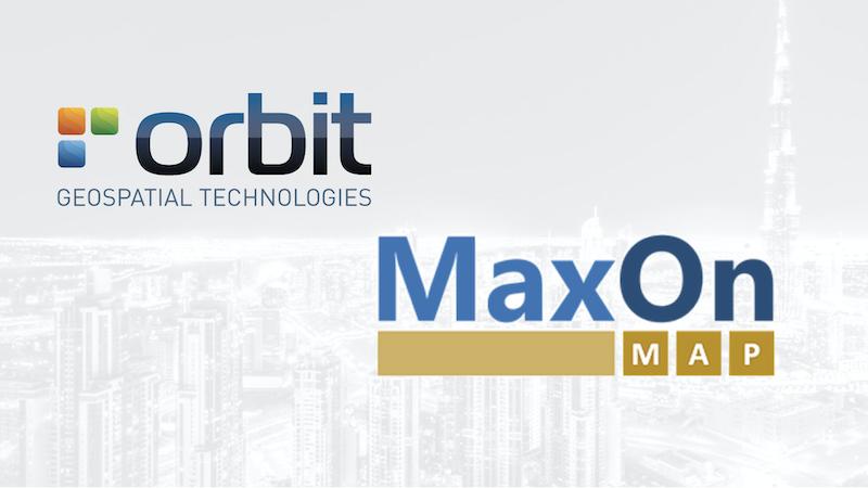 Orbit GT Orbit GT and MaxOn Map, Brazil, sign Reseller Agreement